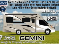 New 2018  Thor Motor Coach Gemini 23TB Diesel RV for Sale at MHSRV.com W/ Ext. TV by Thor Motor Coach from Motor Home Specialist in Alvarado, TX