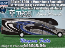 New 2018  Thor Motor Coach Four Winds Super C 35SB Bunk Model W/ Res Fridge, King, Ext. TV by Thor Motor Coach from Motor Home Specialist in Alvarado, TX