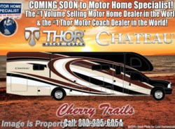 "New 2018  Thor Motor Coach Chateau Super C 35SD RV for Sale at MHSRV W/ 50"" TV, 330HP by Thor Motor Coach from Motor Home Specialist in Alvarado, TX"
