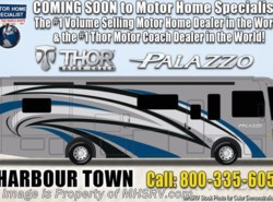 New 2019  Thor Motor Coach Palazzo 36.3 Bath & 1/2 Diesel Pusher Theater Seats & W/D by Thor Motor Coach from Motor Home Specialist in Alvarado, TX