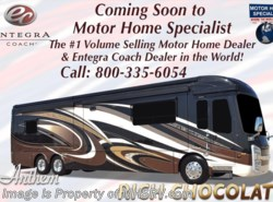 New 2018  Entegra Coach Anthem 44W Bath & 1/2 RV W/Theater Seat & Booth by Entegra Coach from Motor Home Specialist in Alvarado, TX