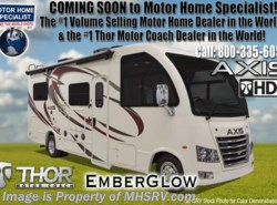 New 2018  Thor Motor Coach Axis 25.2 RUV for Sale at MHSRV.com W/15K A/C & IFS by Thor Motor Coach from Motor Home Specialist in Alvarado, TX