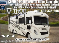 New 2018  Thor Motor Coach A.C.E. 30.4 ACE for Sale W/ 5.5KW Gen, 2 A/Cs & Ext TV by Thor Motor Coach from Motor Home Specialist in Alvarado, TX
