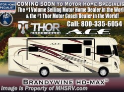 New 2018  Thor Motor Coach A.C.E. 30.4 ACE for Sale 5.5KW Gen, 2 A/Cs, Ext TV by Thor Motor Coach from Motor Home Specialist in Alvarado, TX