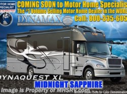 New 2018  Dynamax Corp Dynaquest XL 37RB 450HP, Solar, Sat, King, W/D by Dynamax Corp from Motor Home Specialist in Alvarado, TX