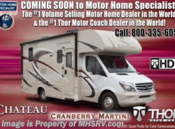 New 2018  Thor Motor Coach Chateau Sprinter 24FS Sprinter Diesel RV for Sale at MHSRV W/Dsl Ge by Thor Motor Coach from Motor Home Specialist in Alvarado, TX