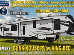 New 2018  Heartland RV ElkRidge 39MBHS Bunk House RV W/ 2 A/C, Ext Grill, Jacks by Heartland RV from Motor Home Specialist in Alvarado, TX