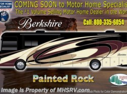New 2018  Forest River Berkshire 38A Bunk Model, Bath & 1/2, 360HP, Stack W/D by Forest River from Motor Home Specialist in Alvarado, TX