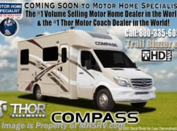 New 2018  Thor Motor Coach Compass 24LP Diesel RV W/Diesel Generator by Thor Motor Coach from Motor Home Specialist in Alvarado, TX