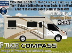 New 2018  Thor Motor Coach Compass 24LP Diesel RV W/ Diesel Generator by Thor Motor Coach from Motor Home Specialist in Alvarado, TX