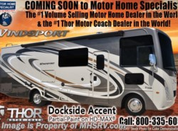 New 2018  Thor Motor Coach Windsport 27B RV for Sale at MHSRV W/ 5.5KW Gen, 2 A/Cs by Thor Motor Coach from Motor Home Specialist in Alvarado, TX