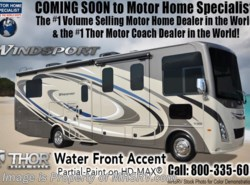 New 2018  Thor Motor Coach Windsport 27B RV for Sale at MHSRV W/2 A/Cs, 5.5KW Gen by Thor Motor Coach from Motor Home Specialist in Alvarado, TX