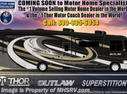 New 2019  Thor Motor Coach Outlaw 37GP Toy Hauler W/2 Patio Decks, 3 A/Cs by Thor Motor Coach from Motor Home Specialist in Alvarado, TX