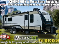 New 2018  Cruiser RV Radiance Ultra-Lite 25RB RV W/King, 2 A/C, Pwr Tongue Jack by Cruiser RV from Motor Home Specialist in Alvarado, TX