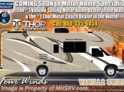 New 2019  Thor Motor Coach Four Winds 22B for Sale at MHSRV W/ 15K A/C, Ext TV by Thor Motor Coach from Motor Home Specialist in Alvarado, TX