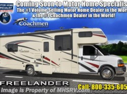 New 2019  Coachmen Freelander  26DSC W/Dual Recliners, 15K A/C, Ext TV by Coachmen from Motor Home Specialist in Alvarado, TX