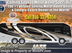 New 2019  Entegra Coach Anthem 44W Bath & 1/2 Luxury RV W/Stonewall, Booth by Entegra Coach from Motor Home Specialist in Alvarado, TX