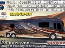New 2019  Entegra Coach Cornerstone 45X Luxury RV W/Stonewall, WiFi, Solar by Entegra Coach from Motor Home Specialist in Alvarado, TX