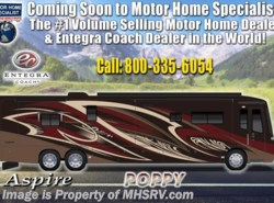 New 2019  Entegra Coach Aspire 44B Bath & 1/2 Luxury RV W/ King, Aqua Hot, Solar by Entegra Coach from Motor Home Specialist in Alvarado, TX
