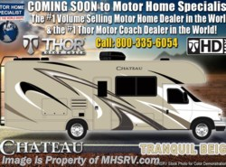 New 2019 Thor Motor Coach Chateau Citation Sprinter 24ST RV W/Theater Seats, Stabilizers, Side Cams available in Alvarado, Texas