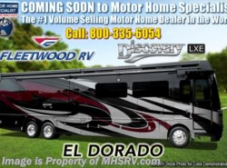 New 2019  Fleetwood Discovery LXE 44H Bath & 1/2 W/Tech Pkg, Aqua Hot, 450HP, King by Fleetwood from Motor Home Specialist in Alvarado, TX
