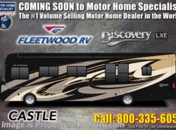 New 2019  Fleetwood Discovery LXE 40D Bath & 1/2 RV For Sale W/ King, Aqua Hot by Fleetwood from Motor Home Specialist in Alvarado, TX