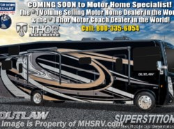 New 2019 Thor Motor Coach Outlaw 37RB Toy Hauler RV W/ Garage Sofa, Patio Deck available in Alvarado, Texas