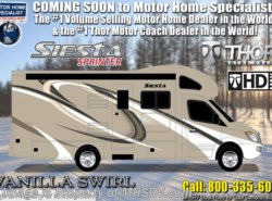 New 2019  Thor Motor Coach Four Winds Siesta Sprinter 24SK For Sale W/ 15K A/C & Stabilizers by Thor Motor Coach from Motor Home Specialist in Alvarado, TX