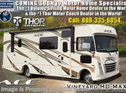 New 2019 Thor Motor Coach A.C.E. 30.3 ACE W/5.5KW Gen, 2 A/Cs, Ext TV, Loft Bed available in Alvarado, Texas