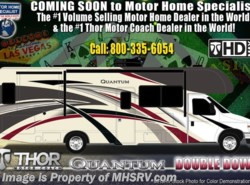 New 2019  Thor Motor Coach Quantum RC25 W/ 15K A/C, Ext TV, Platinum Pkg by Thor Motor Coach from Motor Home Specialist in Alvarado, TX