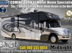 New 2019  Nexus Ghost 34DS Diesel Super C W/Sat, Ext TV & Solar by Nexus from Motor Home Specialist in Alvarado, TX