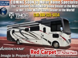 New 2019 Thor Motor Coach Hurricane 34R Class A Gas RV for Sale W/Theater Seats available in Alvarado, Texas