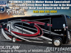 New 2019 Thor Motor Coach Outlaw 38MB Toy Hauler RV W/Garage Sofas, Dual Pane available in Alvarado, Texas