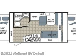 New 2017  Dutchmen Kodiak Express 172E by Dutchmen from National RV Detroit in Belleville, MI