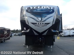 New 2017  Heartland RV Cyclone 4113 by Heartland RV from National RV Detroit in Belleville, MI