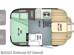 New 2017  Airstream  Airstream Sport 16 by Airstream from National RV Detroit in Belleville, MI