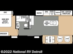 New 2017  Forest River Cedar Creek Cottage 40CCK by Forest River from National RV Detroit in Belleville, MI