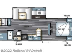 New 2017  Forest River Salem 30KQBSS by Forest River from National RV Detroit in Belleville, MI