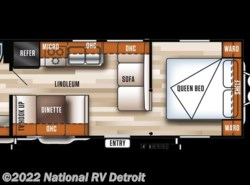 New 2017  Forest River Salem Cruise Lite 241QBXL by Forest River from National RV Detroit in Belleville, MI