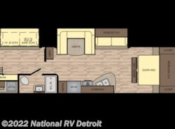 New 2017  CrossRoads Z-1 ZR328SB by CrossRoads from National RV Detroit in Belleville, MI