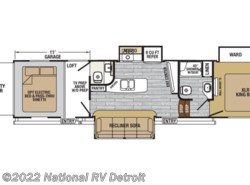 New 2017  Forest River XLR Nitro 36TI5 by Forest River from National RV Detroit in Belleville, MI