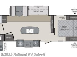 New 2017  Keystone Premier 26RBPR by Keystone from National RV Detroit in Belleville, MI