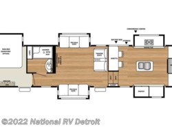New 2018  Forest River RiverStone 39FK by Forest River from National RV Detroit in Belleville, MI