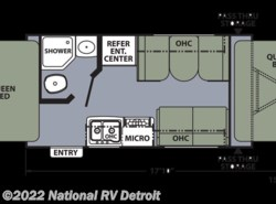 Used 2013  Coachmen Apex 151RBX by Coachmen from National RV Detroit in Belleville, MI