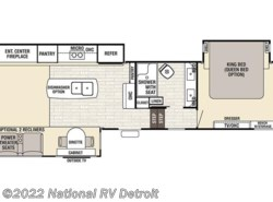 New 2018  Forest River Cedar Creek Champagne 38EL by Forest River from National RV Detroit in Belleville, MI