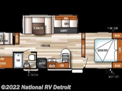 New 2018  Forest River Salem 30KQBSS by Forest River from National RV Detroit in Belleville, MI