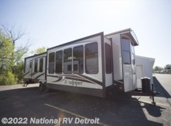 New 2018  Forest River Sandpiper Destination 385FKBH by Forest River from National RV Detroit in Belleville, MI
