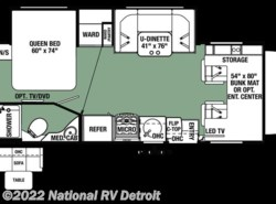 New 2018  Forest River Forester MBS 2401W by Forest River from National RV Detroit in Belleville, MI