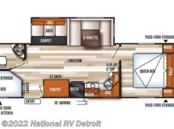 New 2018  Forest River Salem 27DBK by Forest River from National RV Detroit in Belleville, MI