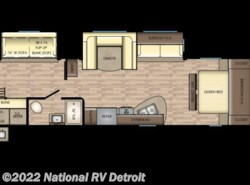 New 2018  CrossRoads Zinger ZR328SB by CrossRoads from National RV Detroit in Belleville, MI